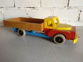El Vinta: Camión de juguete 1950 (Decoración, Diseño, Vintage, Rojo)