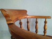 El Vinta: Silla de capitán (Muebles, Antigüedades)