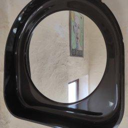 Espejo de la era espacial 1970