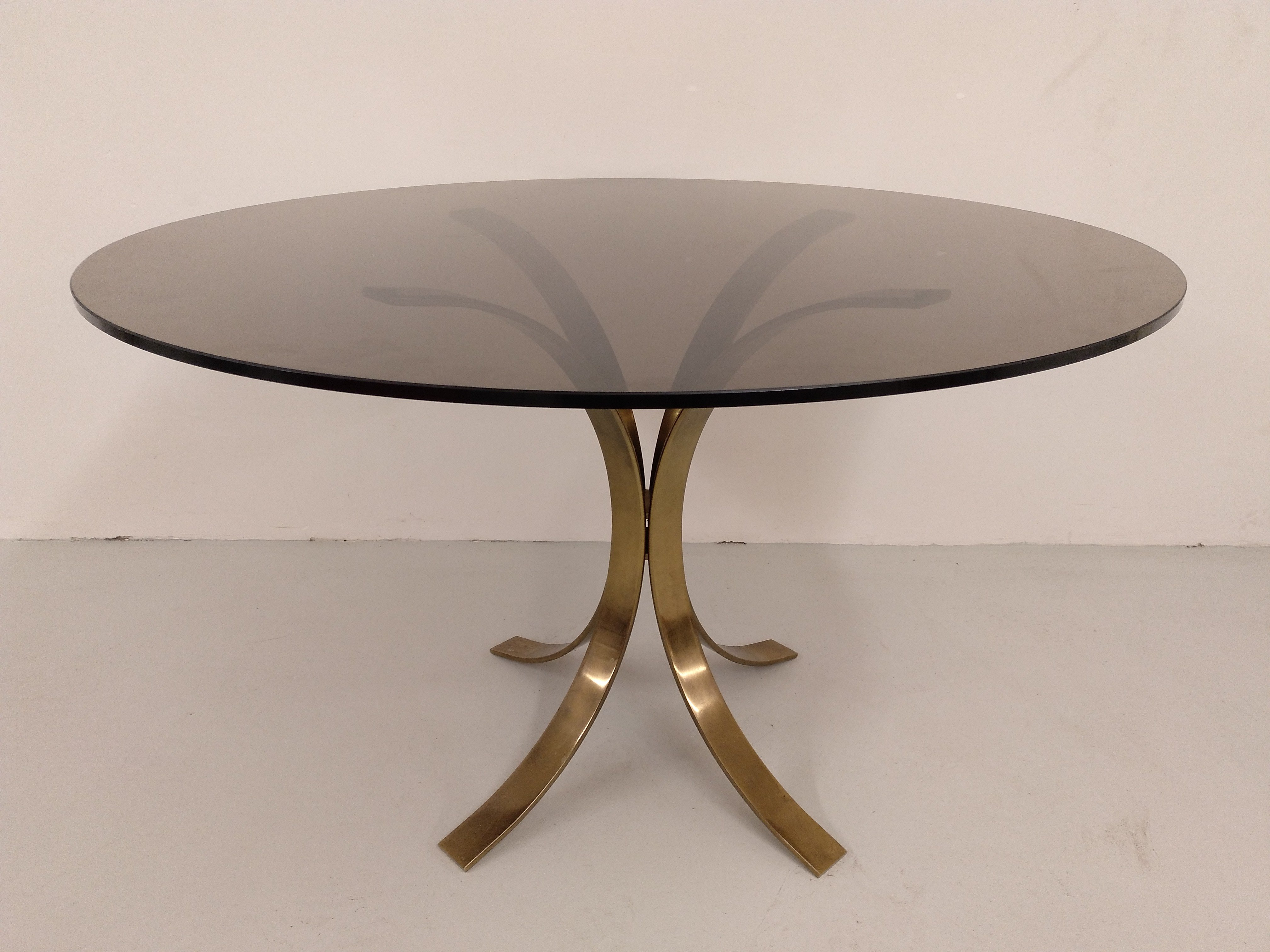 El Vinta: Mesa redonda de comedor años 70 (Muebles, Diseño, Vintage)