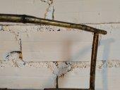 El Vinta: Revistero de latón estilo bambú (Muebles, Diseño, Vintage)
